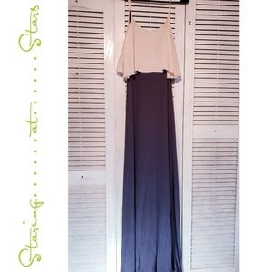 STARING AT STARS for Anthropologie Maxi Dress Sm
